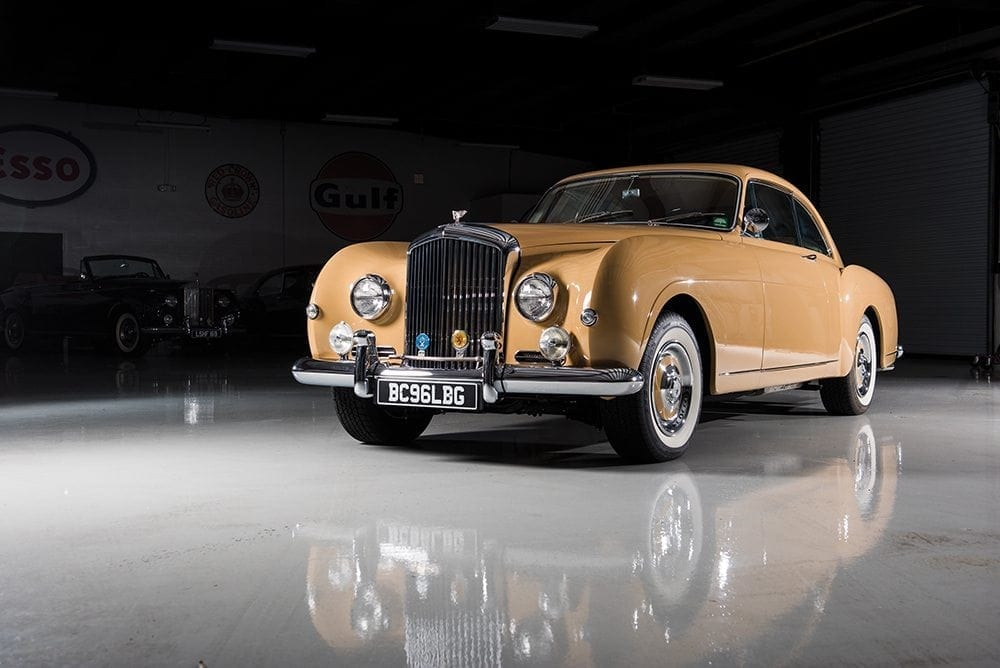 1957 Bentley S1 Continental Fastback. Auctioned by RM Sotheby's for 781,000 dollar _ 642,000 pound. Photo Darrin Schnabel, RM Sotheby's.