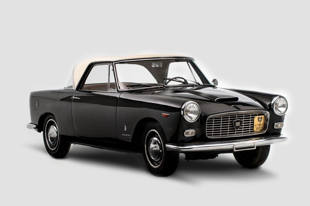 1959 Lancia Appia Coupe by Pinin Farina. Auctioned by Bonhams in February 2018 for EUR23,000 (20,250). Photo Bonhams