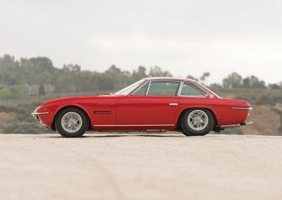 Lamborghini Islero, an almost forgotten sports car - 1969 Lamborghini Islero S. Auctioned by RM Sothebys at 14 August 2015 for 256500 pounds. Photo Robin Adams RM Sothebys side 400x284