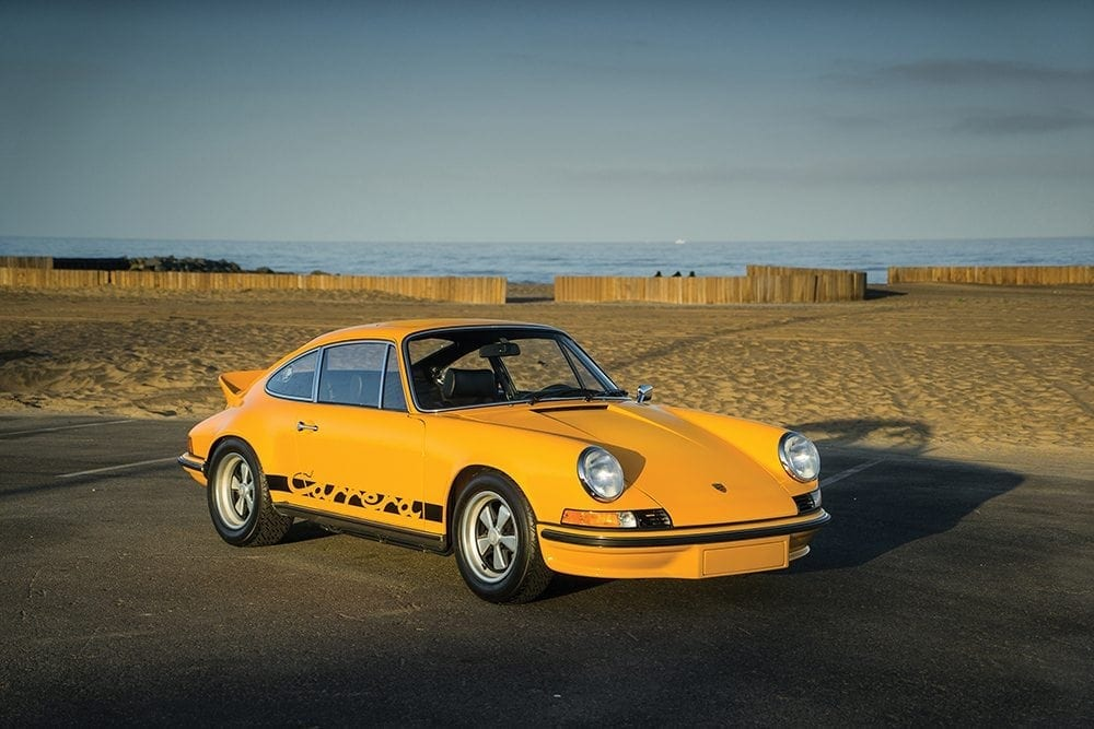 1973 Porsche 911 Carrera RS 2.7 Touring. Auctioned by RM Sotehby's at 19 August 2017 for 649,000 dollar _ 504,000 pound. Photo RM Sotheby's.