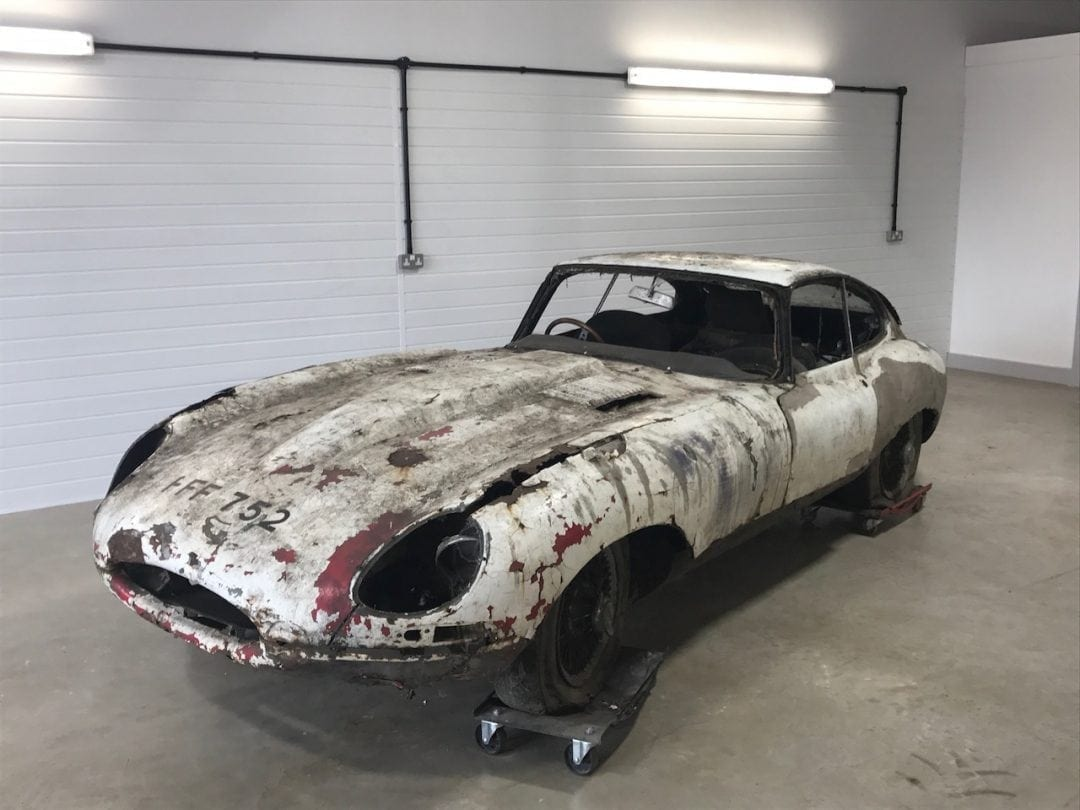 Finance a classic e-type with JBR Capital
