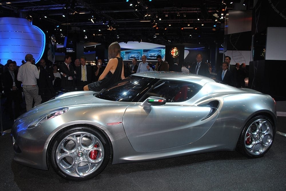 Alfa Romeo 4C Competizione With JBR Capital