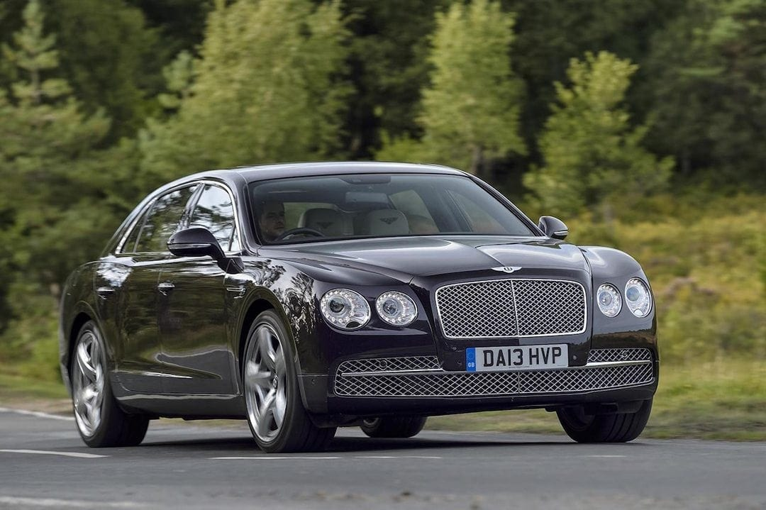 Bentley Flying Spur With JBR Capital