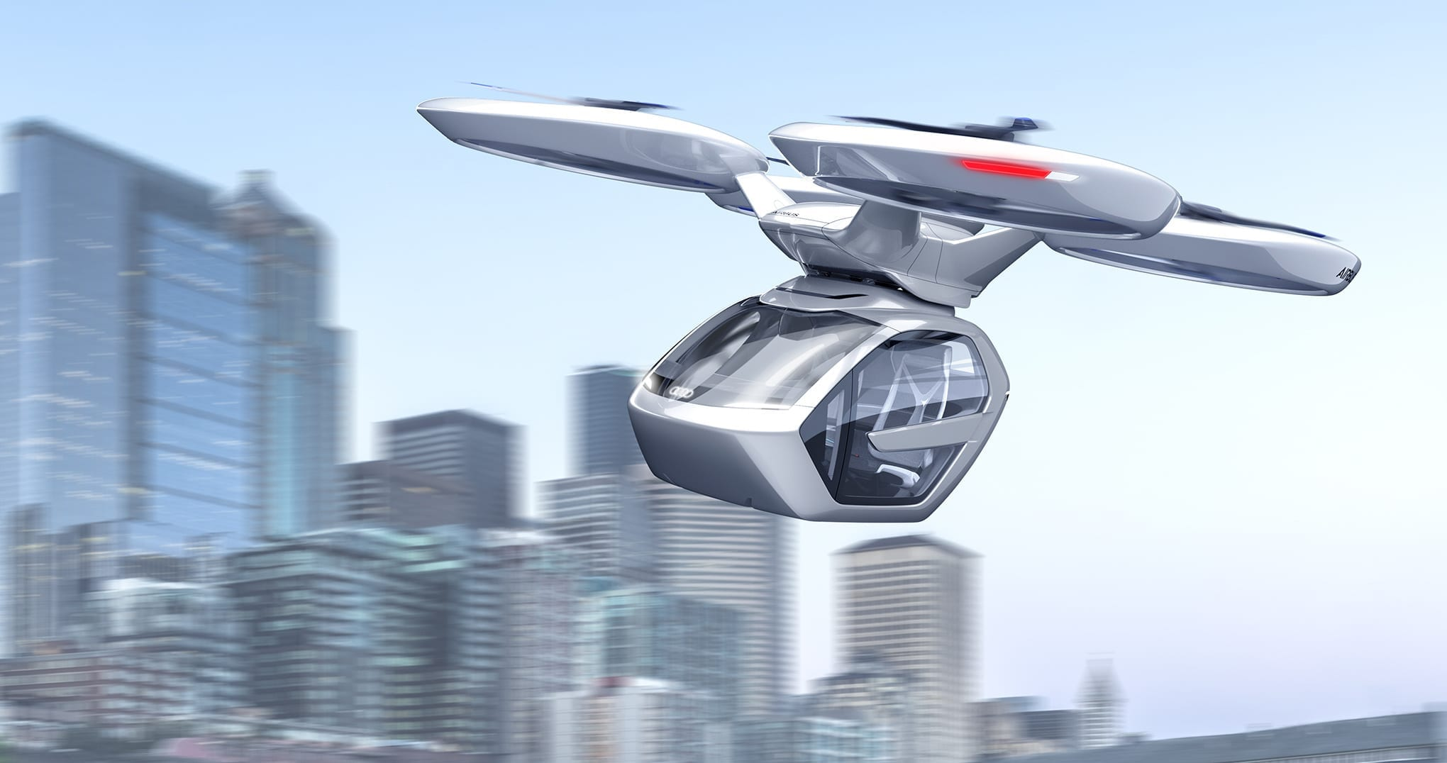 The Future: Concept vehicles or reality? - Italdesign Airbus Pop.Up .Next 2