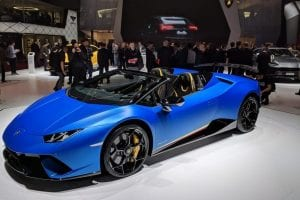 Geneva Motor Show – the latest and greatest supercars
