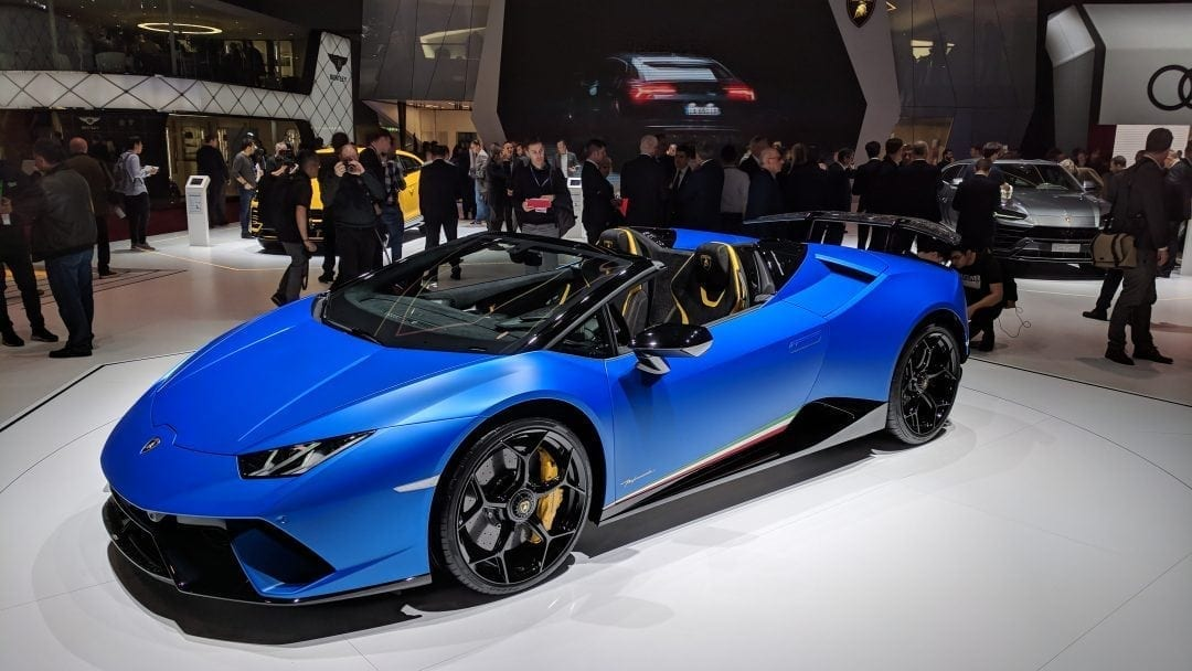 Geneva Motor Show - the latest and greatest supercars