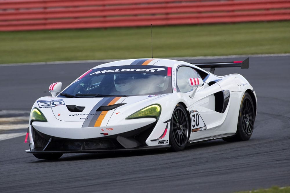 V8, V10, V12 and W16 Engines: Endangered species; get 'em while you can! - Pure McLaren GT4 Silverstone 0423