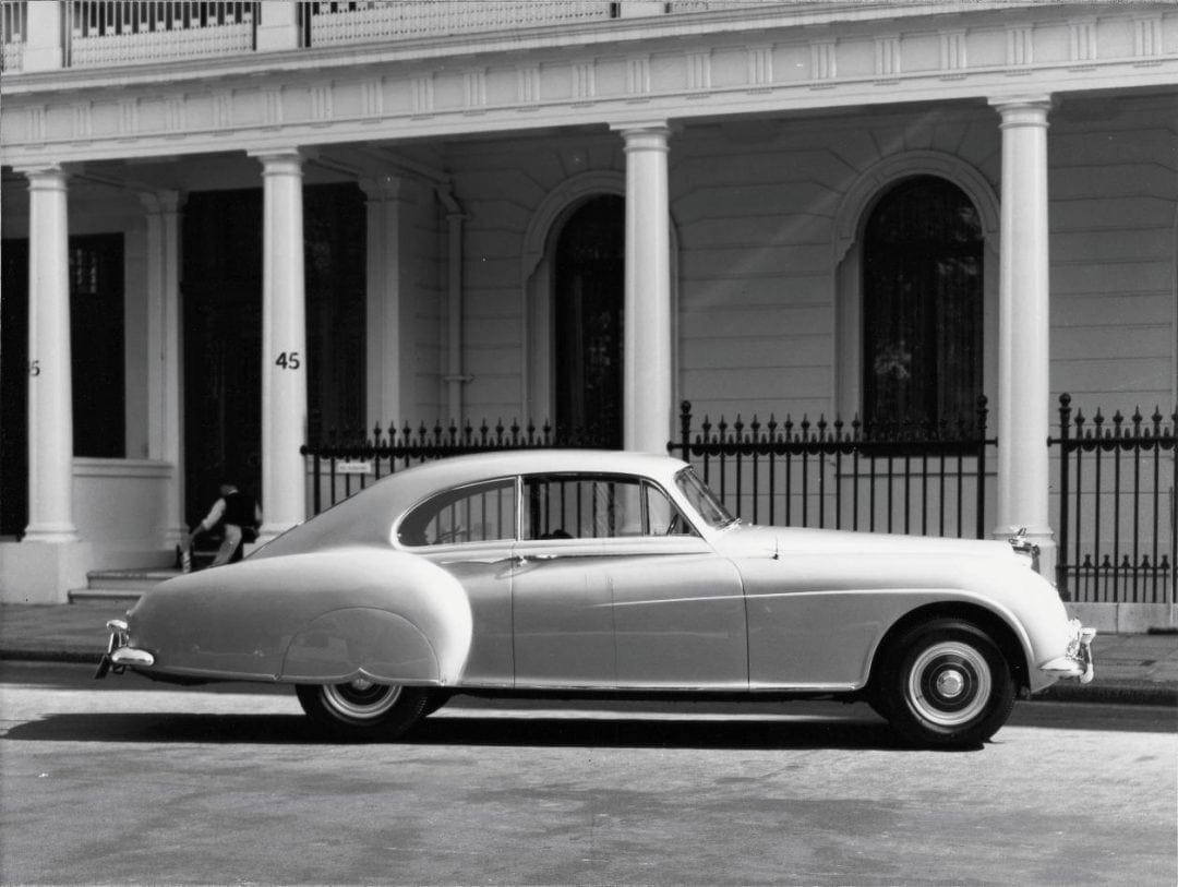Bentley R-Type Continental With JBR Capital