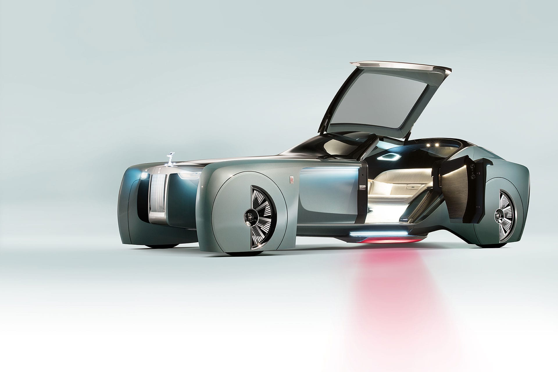 The Future: Concept vehicles or reality? - Rolls Royce Vision Next 100 103EX 1
