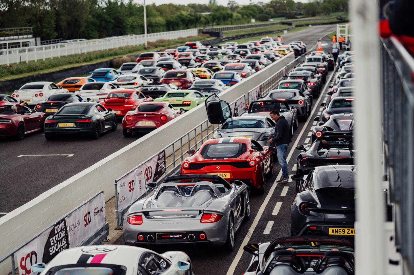 Bring On The Thunder – 200 Supercars Descend On The Goodwood Motor Circuit