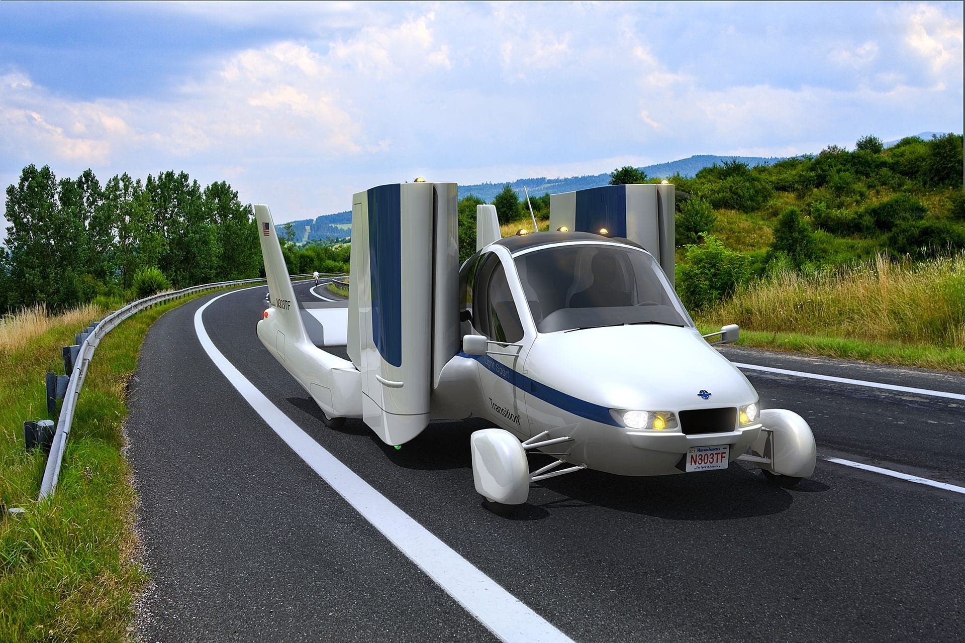 The Future: Concept vehicles or reality? - Terrafugia Transition Flying Car