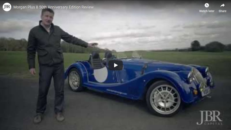 JBR Capital Luxury and Classic car finance provider - finance your Morgan with us