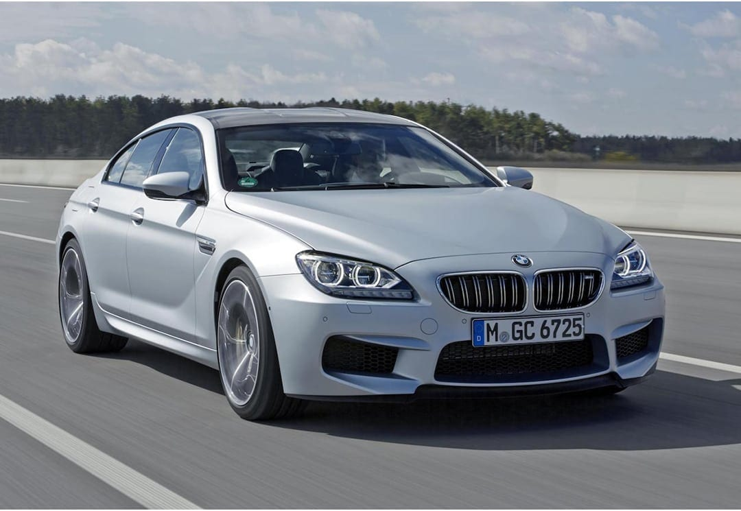 BMW M6 GRAN COUPE COMPETITION/M DRIVER'S PACKAGE