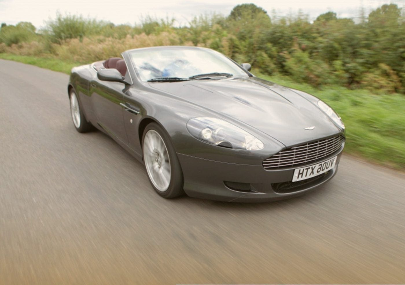 Aston Martin DB9 over the years