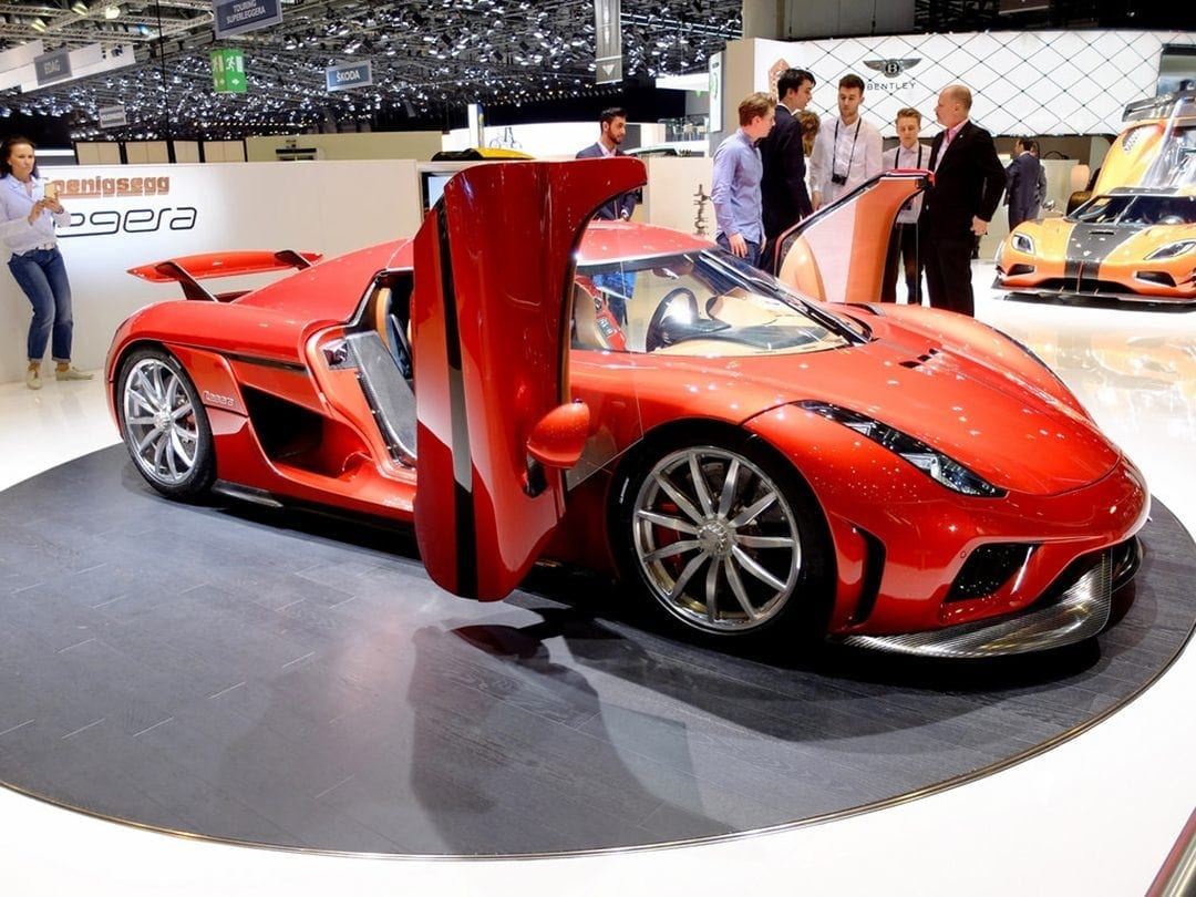 Koenigsegg Regera With JBR Capital