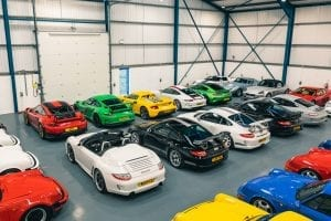 Leonard Collection of Modern Porsche sells for £7.5M (in 10 days)