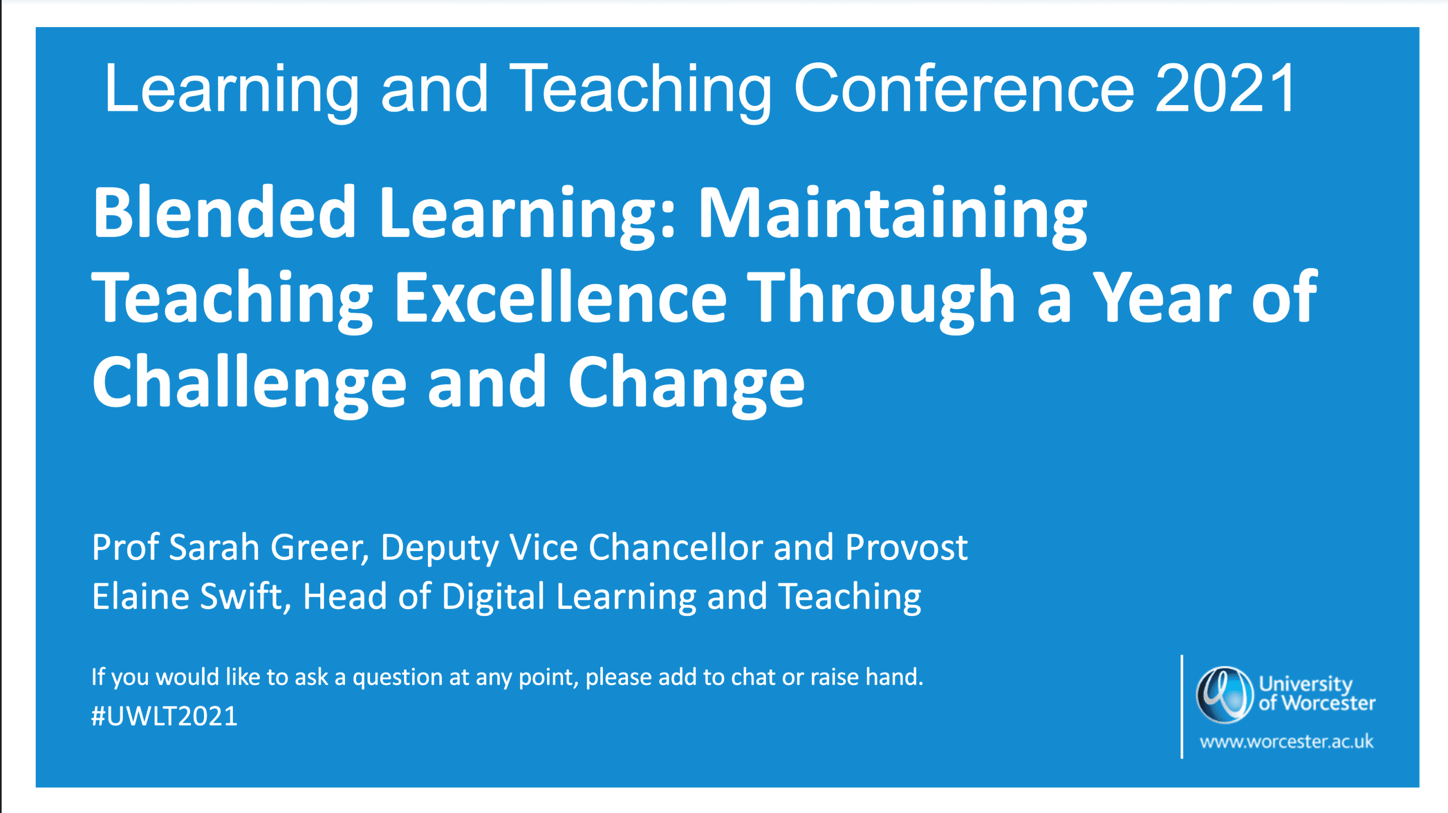 Teaching Excellence Through a Year of Challenge & Change