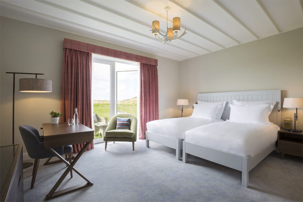 Executive Twin Room at The Machrie Hotel