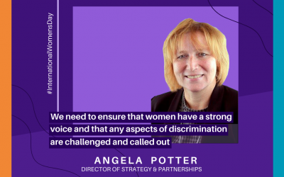 International Women's Day 2021: Q&A with Angela Potter
