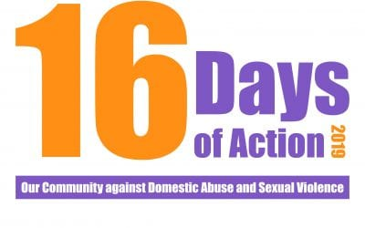 16 Days of Action: Putting an end to domestic and sexual violence and abuse