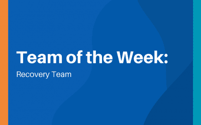Team of the Week: Recovery Team