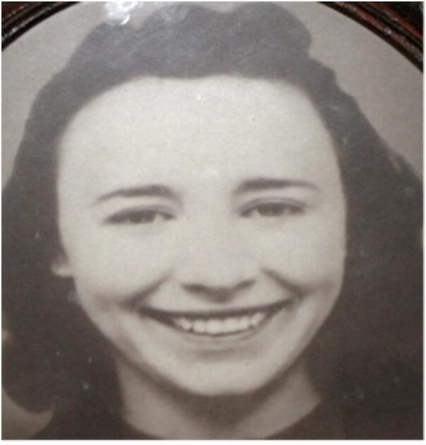 grandmother as young woman