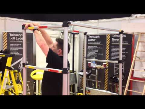 Telescopic Towers Demo at Totally DIY 2014