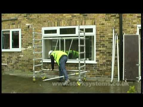 Youngman Mobile Scaffolding Towers | Compact Mobile Tower Assembly
