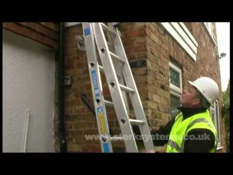 Triple Industrial Ladder   Stability with Zarges Triple Ladders