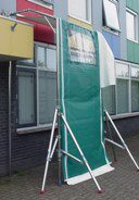 Weather protection system Freestanding