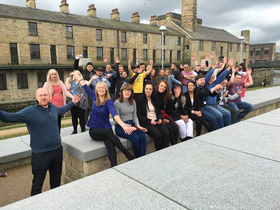 Burnley community launches call centre in former cotton mill