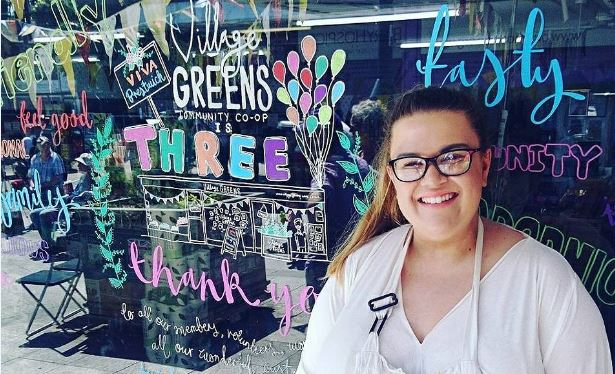 Top 5 tips for window art: Why all community businesses should be doing it