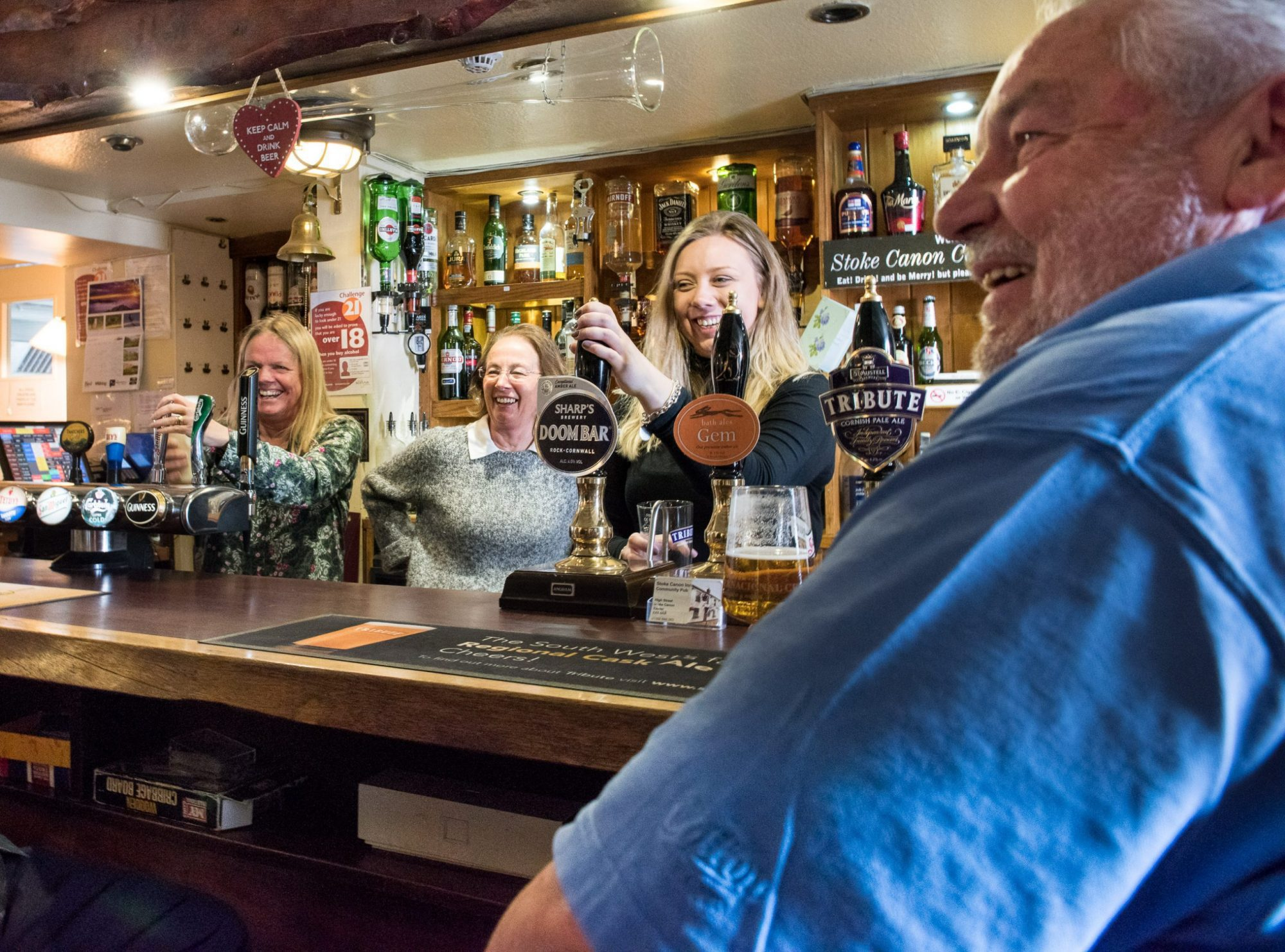 Community pubs and shops booming against backdrop of closures