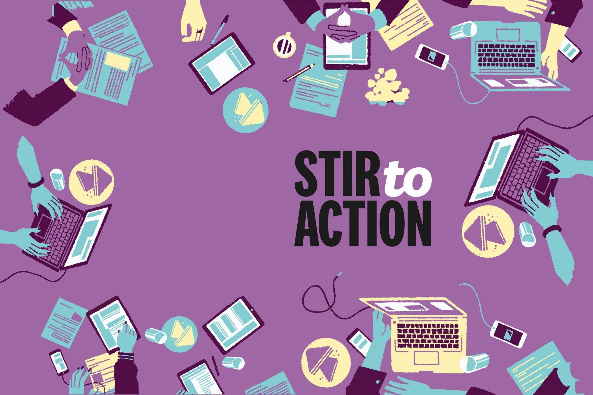Stir to Action and Power to Change partner to relaunch 20 webinars for free to support communities
