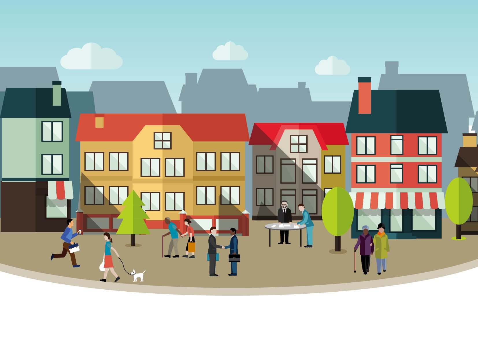Can a wellbeing approach help towns to flourish?