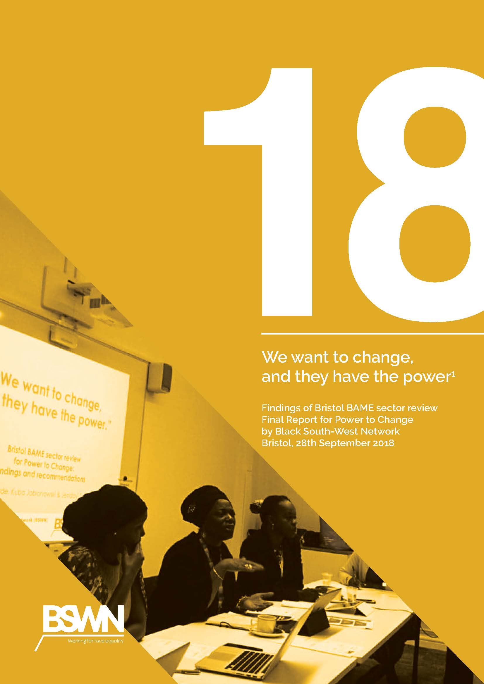 Findings of Bristol BAME sector review
